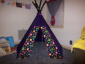 This ... & Product Review- Butterick Play TeePee Tent Pattern B4251