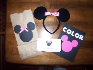 Our Minnie Mouse Birthday Party Favor Bags