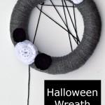 Halloween Wreath from Lion Brand Yarn