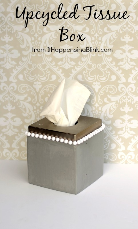 Upcycled Tissue Box