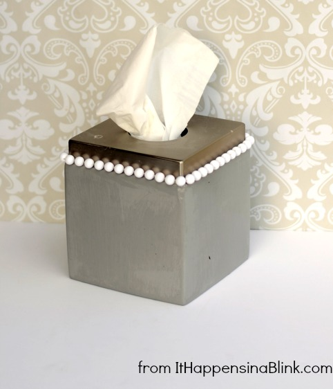 Tissue Box Upcycled