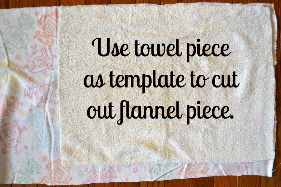 Baby Burp Cloths (Using Hand Towels)