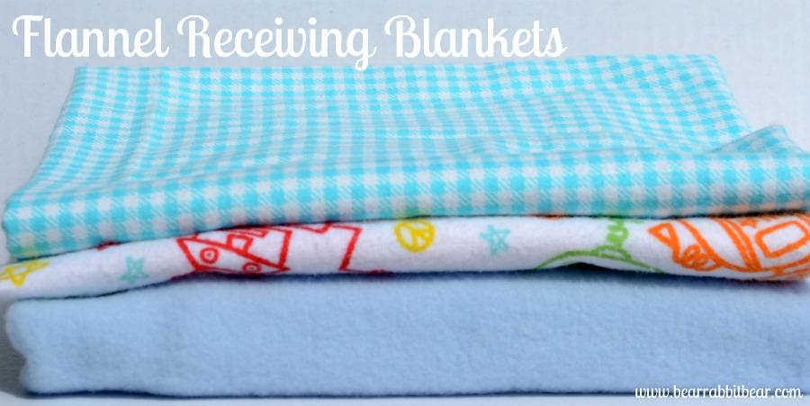 {Easy} Baby Receiving Blanket Tutorial