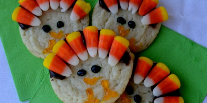 Virtual Thanksgiving: Thanksgiving at the Kids' Table: Thanksgiving Turkey Cookies