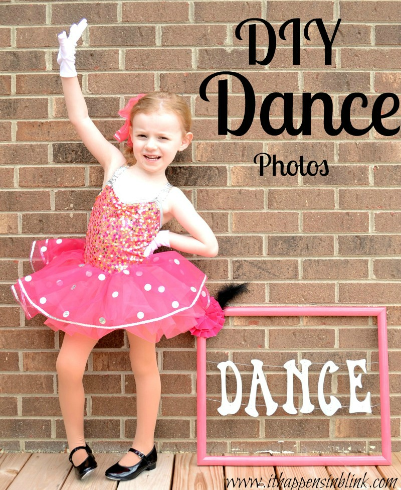 DIY Dance Photo Session from It Happens in a Blink