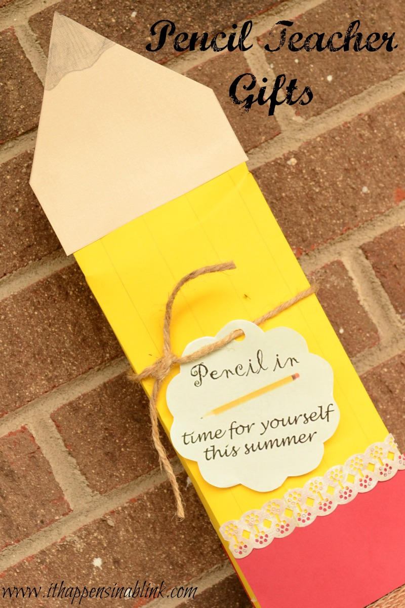 Back To School Pencil Teacher Appreciation Gifts And Free Printable