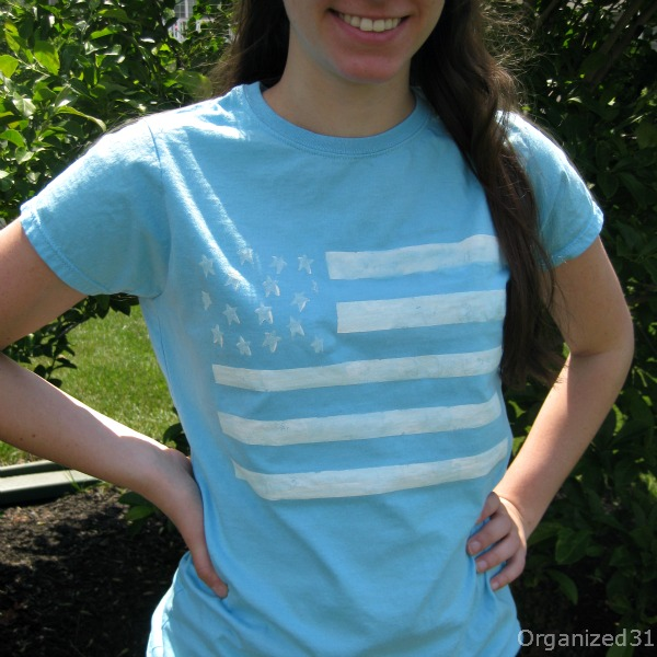 Flag T shirt