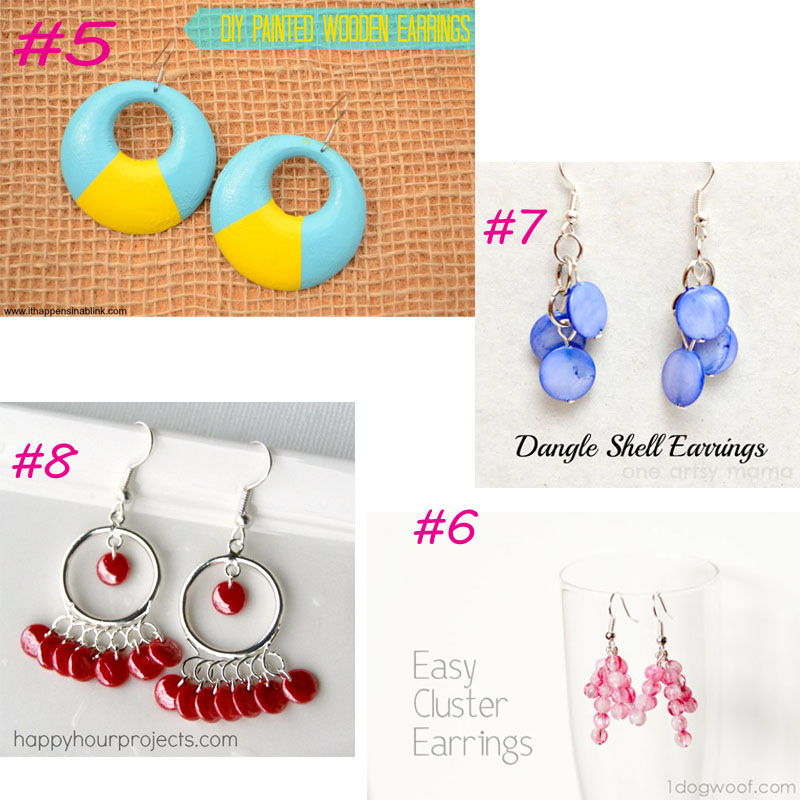 20 Earring round-up from It Happens in a Blink