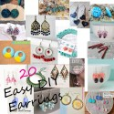 20 Easy DIY Earring Tutorials