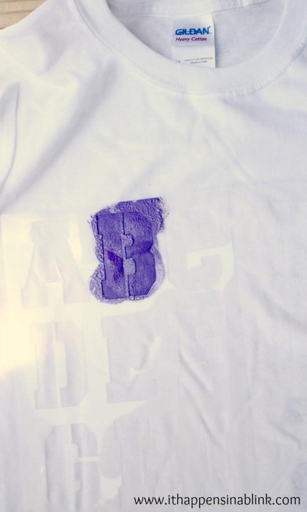 Fabric Paint Stencil