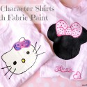 Easy Minnie Mouse and Hello Kitty T-Shirts with Fabric Paint