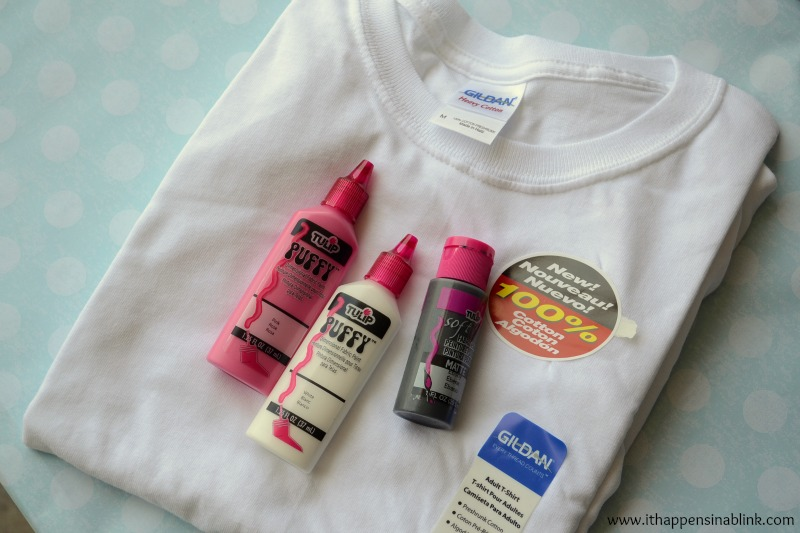 Fabric Paint Shirt One Supplies