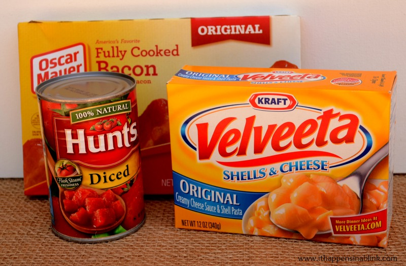 Velveeta Ingredients from It Happens in a Blink