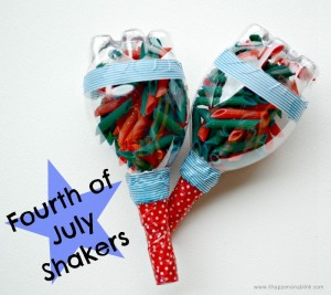 Fourth of July Shakers from It Happens in a Blink
