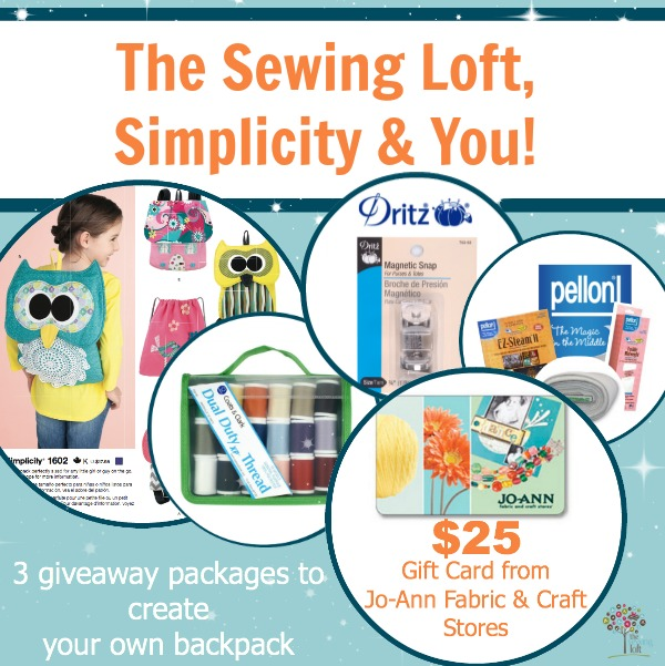 The Sewing Loft Simplicity Giveaway Small