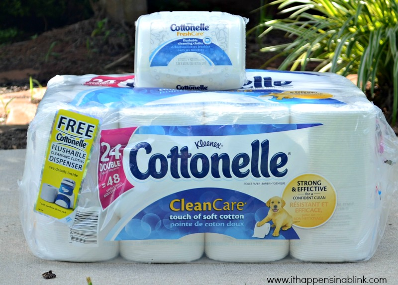 Cottonelle Care Routine products from It Happens in a Blink