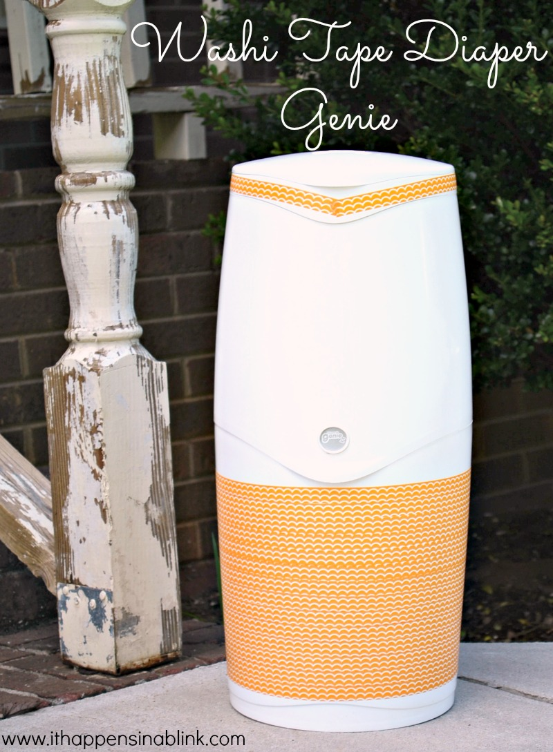 Washi Tape Diaper Genie