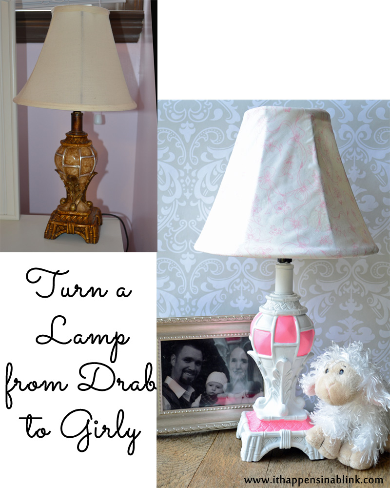 Lamp remodel from It Happens in a Blink