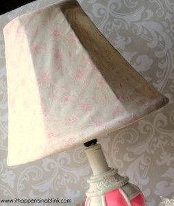 Lamp shade from It Happens in a Blink
