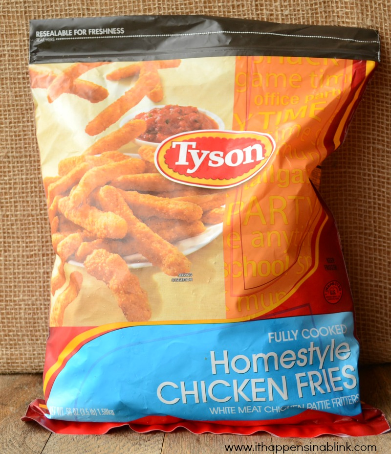 Tyson chicken fries from It Happens in a Blink