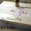 How to Turn Any Table into an Art Table