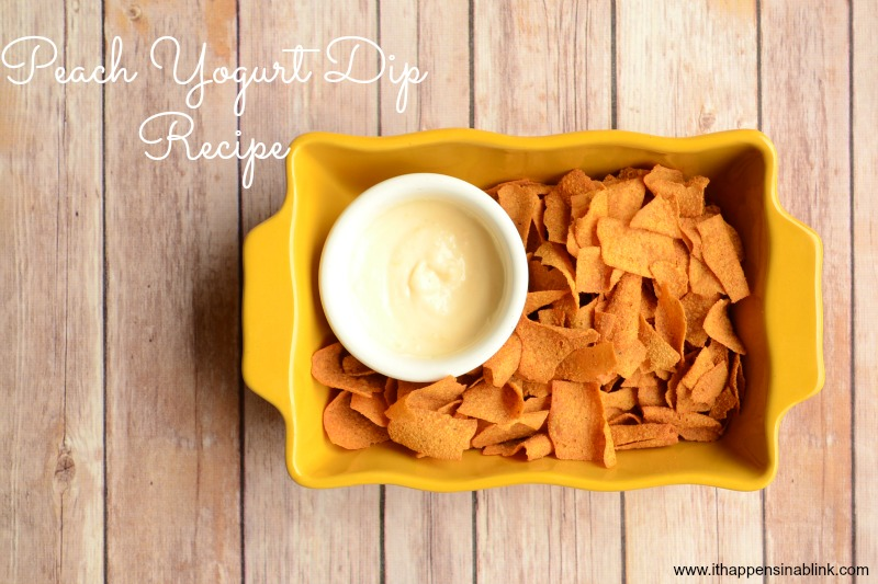 Peach Yogurt Dip