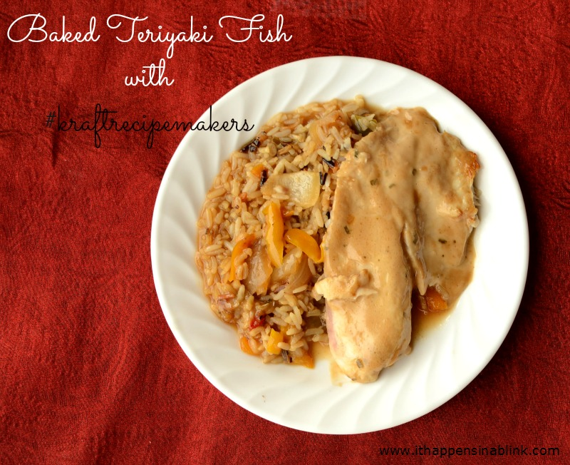 Kraft Recipe Makers Baked Teriyaki Fish #shop
