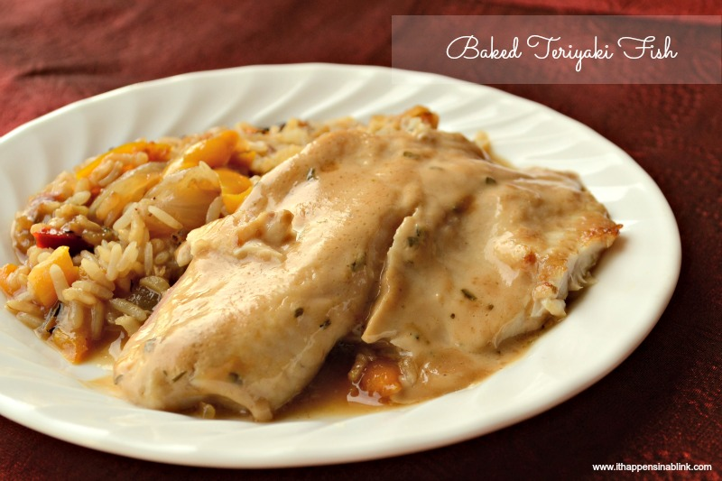 Baked Teriyaki Fish with Kraft Recipe Makers #shop