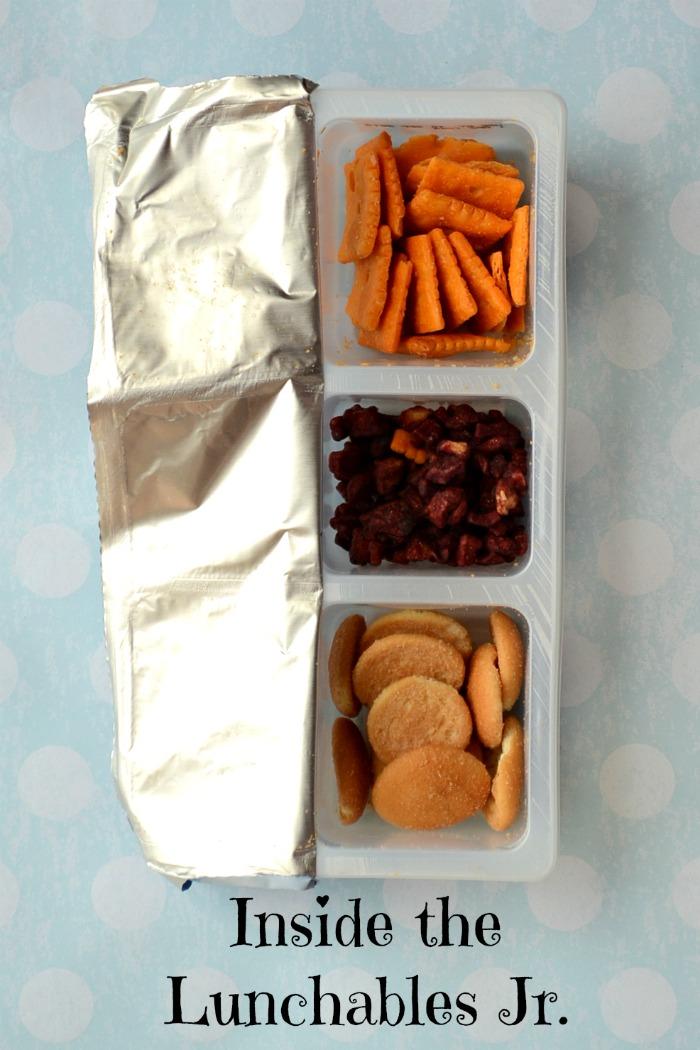 Inside a Lunchables Jr. #shop