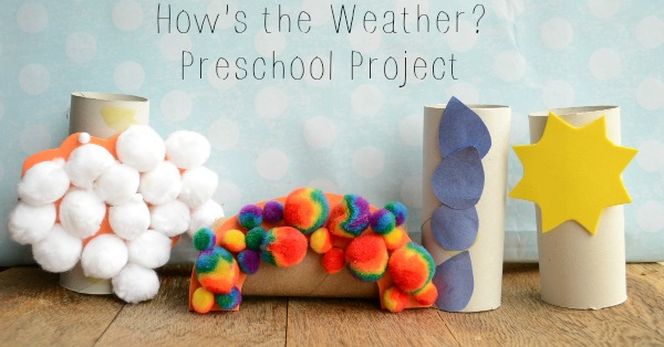 How's the Weather Preschool Craft Project