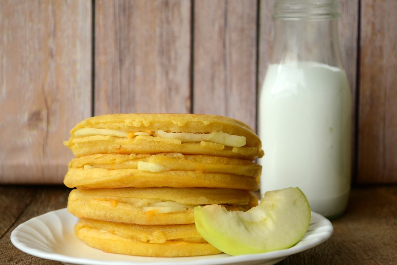 Eggo Apple Quesadilla