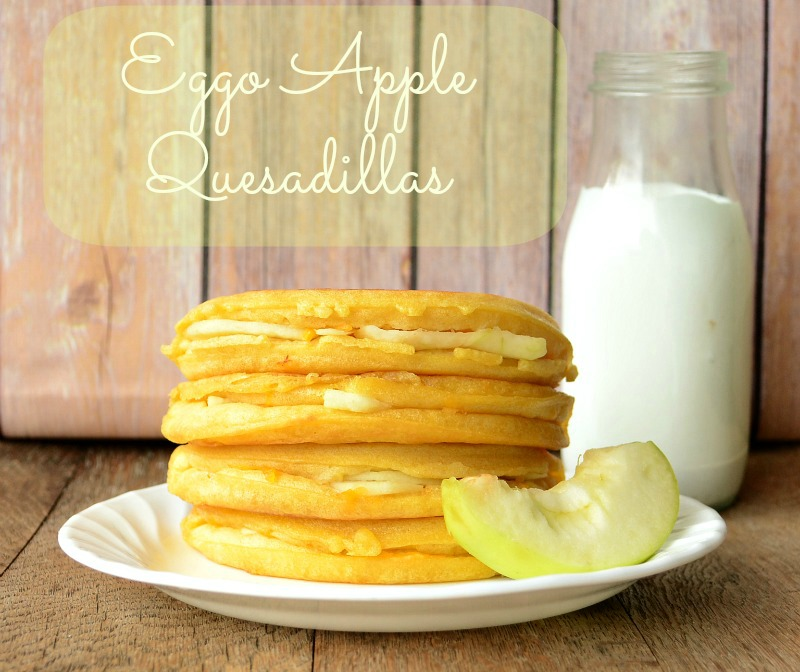 Eggo Apple Quesadillas from It Happens in a Blink