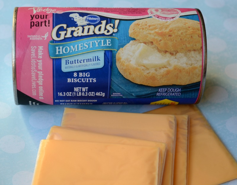 Pillsbury Grands! Grilled Cheese Sandwiches ingredients