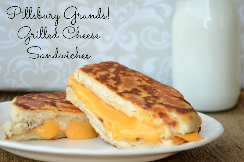 Pillsbury Grands! Grilled Cheese Sandwiches from It Happens in a Blink #shop