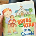 Rufus and Ryan Go to Church Children's Book Review and Giveaway