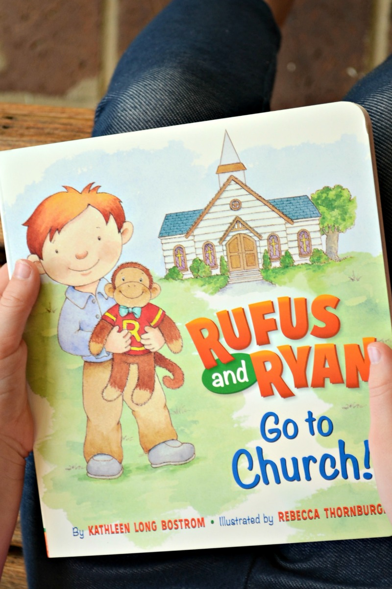 Rufus and Ryan Go to Church Book Review and Giveaway