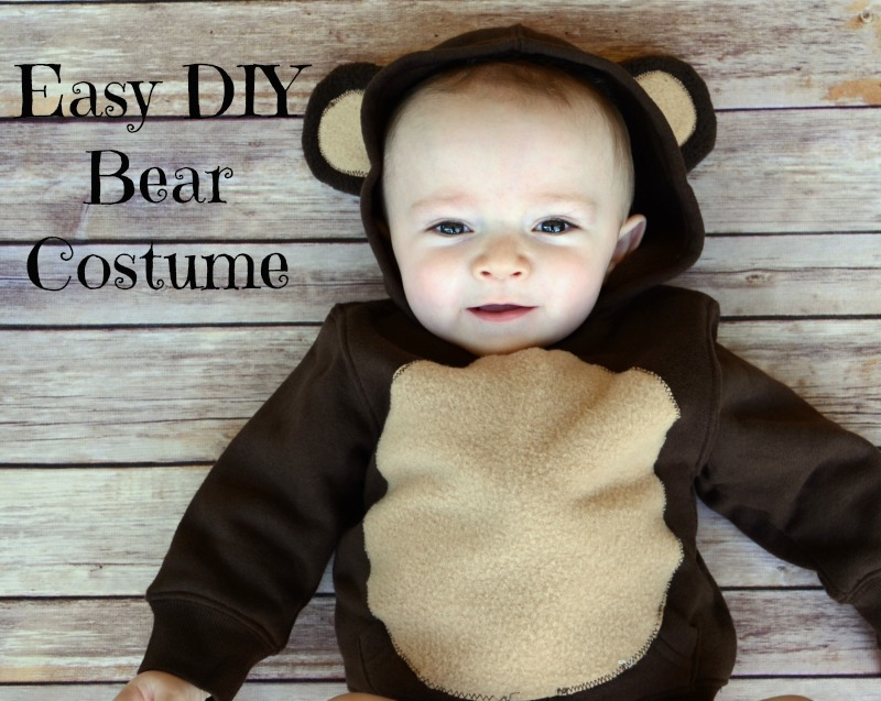 DIY Bear Costume Tutorial  sc 1 st  It Happens in a Blink & Easy DIY Infant Bear Costume
