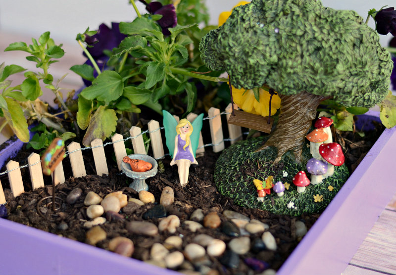 Fun with Our Fairy Garden