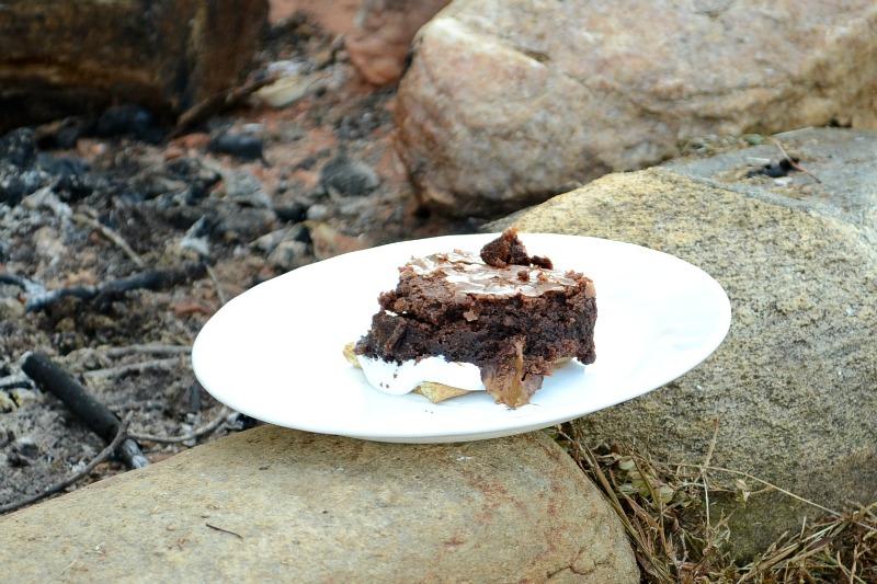 MARS Bites Brownie S'mores #shop #CAMPAIGN #GameDayBites #cbias