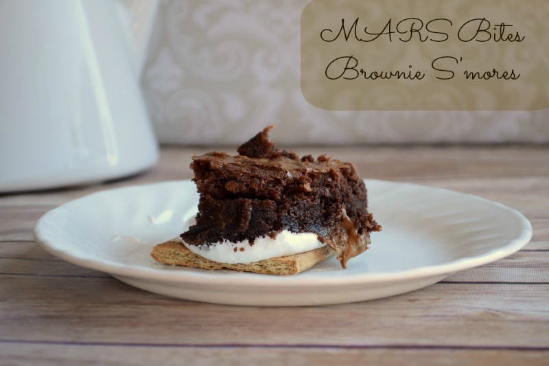 MARS Bites Brownie S'mores #shop #CAMPAIGN #GameDayBites