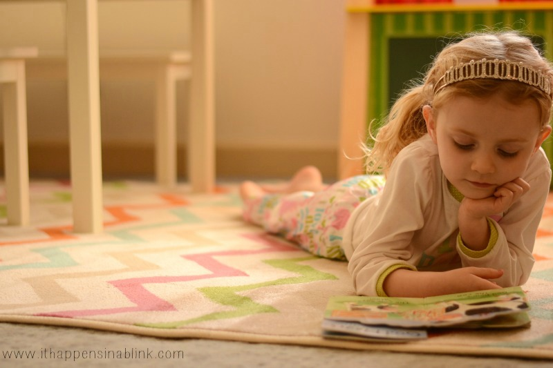 New Playroom Rug Review from It Happens in a Blink