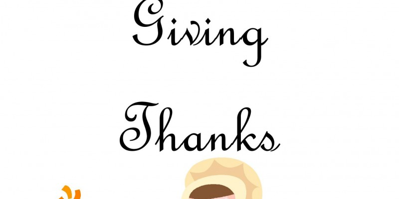 A Preschooler's Guide to Giving Thanks