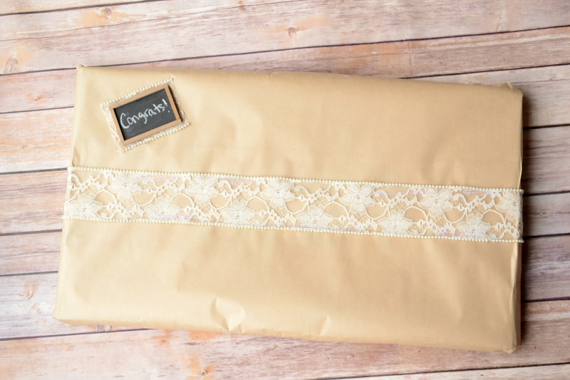 Wrapping Wedding Gift from It Happens in a Blink