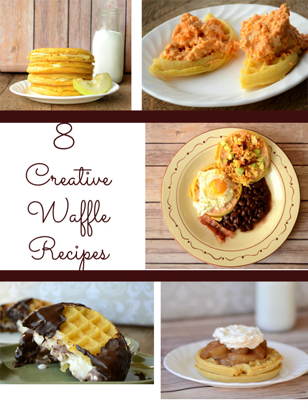 8 Creative Waffle Recipes from It Happens in a Blink