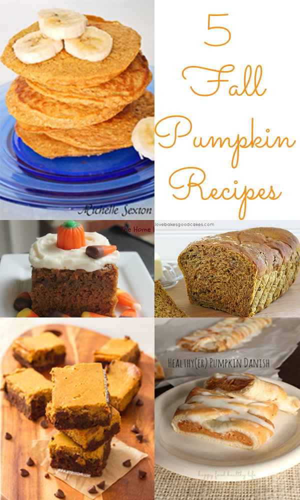 Five Fall Pumpkin Recipes