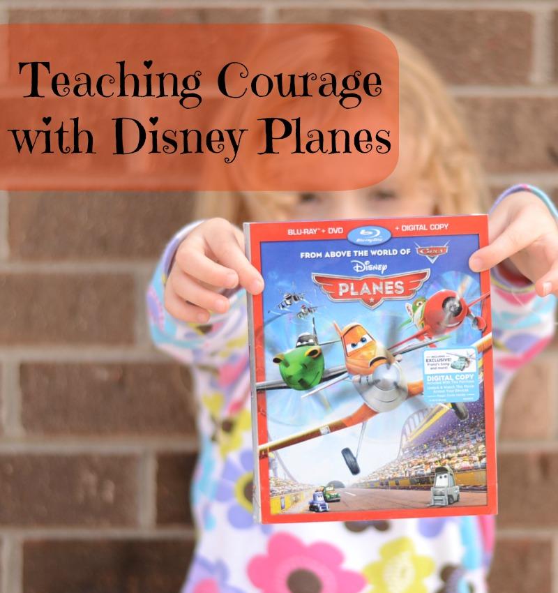Teaching Courage with Disney Planes #OwnDisneyPlanes #shop #cbias