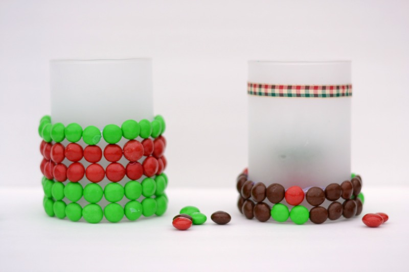 Beaded Candleholders with Gingerbread M & Ms #HolidayMM #cbias #shop