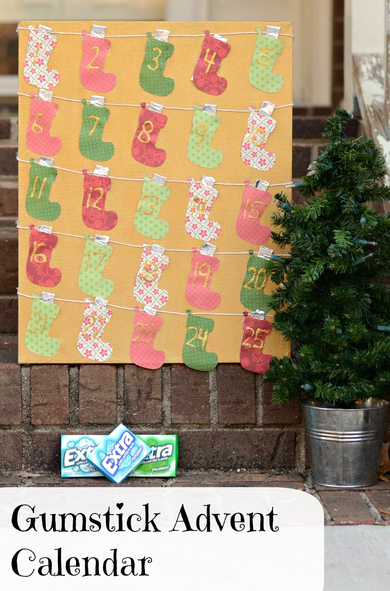Gumstick Advent Calendar #GiveExtraGum #cbias #shop