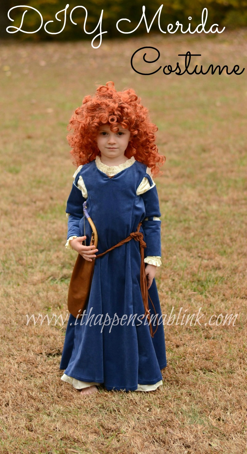 Merida Costume Simplicity pattern