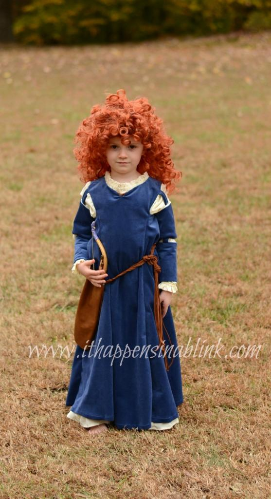 Merida Costume from Simplicity Pattern